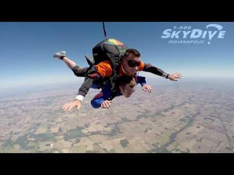 Travis Acton's Tandem skydive!