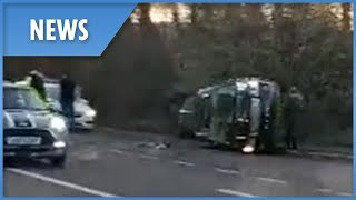 Prince Philip in car crash near Queen's Sandringham estate - THESUNNEWSPAPER