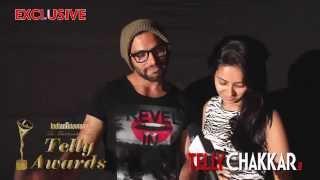 13th Indian Telly Awards: Lovebirds Rithvik-Asha get candid - TELLYCHAKKAR