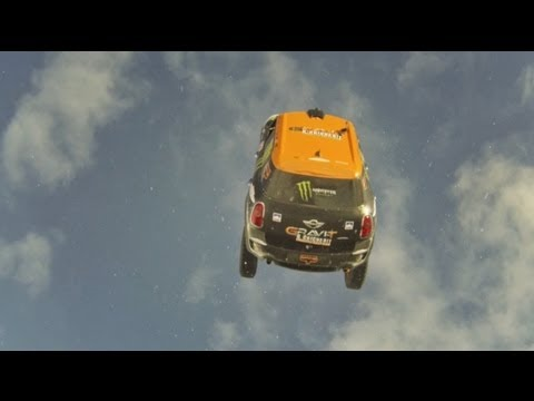 GoPro: Guerlain Chicherit's Car Backflip