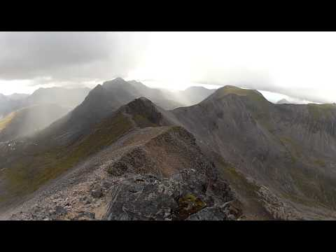 Beinn Eighe - Panoramic from Spidean Coire nan Clach toward Rudh-stac Mor