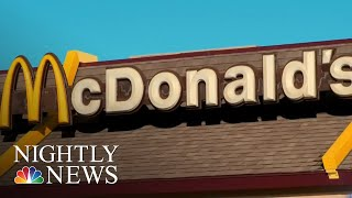 McDonald's Under Pressure To Ban Plastic Straws | NBC Nightly News - NBCNEWS