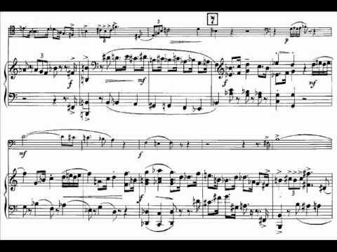 Hindemith - Bassoon sonata Audio + Sheet music