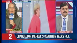 Germany limbo: President Frank-Walter Steinmeier met SPD leaders to discuss coalition impasse - NEWSXLIVE