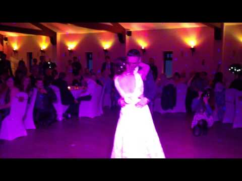 Sammie & Brett First Dance at Ox Pasture Hall Scarbrough