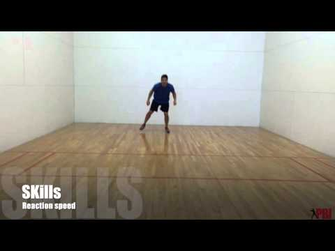 Baseball infield drills - Indoor infield drill with reaction ball