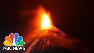 Guatemala's Volcano Of Fire Erupts, Forcing Thousands To Flee | NBC News - NBCNEWS