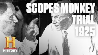 "Scopes Monkey – Rare Footage of the ""Trial of the Century"" 