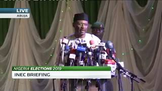 'Why we postponed the Nigerian 2019 elections' - INEC Chairman Mahmood Yakubu - ABNDIGITAL