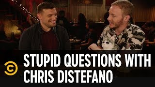 Casey James Salengo's Naked Uncle Killed His Faith in Santa - Stupid Questions with Chris Distefano - COMEDYCENTRAL
