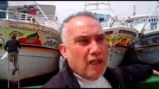 بالفيديو.. صفارات إنذار لصيادي عزبة البرج بدمياط احتجاجًا على قرار وقف تراخيص مراكبهم