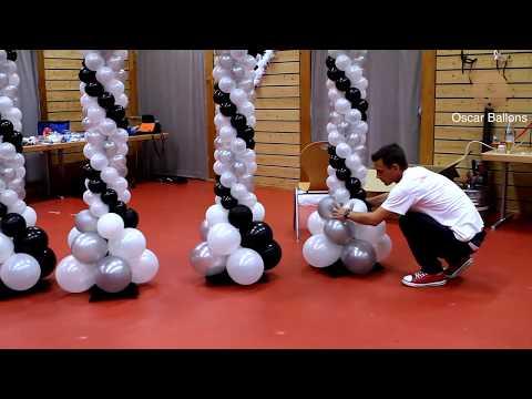 Décoration ballons Mariage - www.oscar-ballons.f