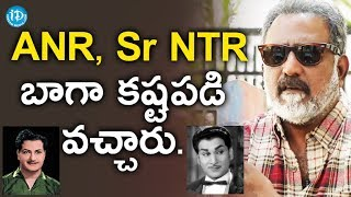 Banerjee About ANR And Sr NTR || Dil Se With Anjali - IDREAMMOVIES