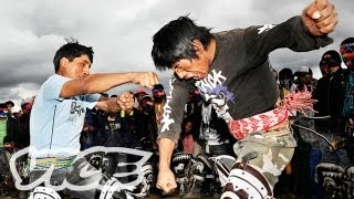 Fist Fighting on Christmas: A Peruvian Tradition