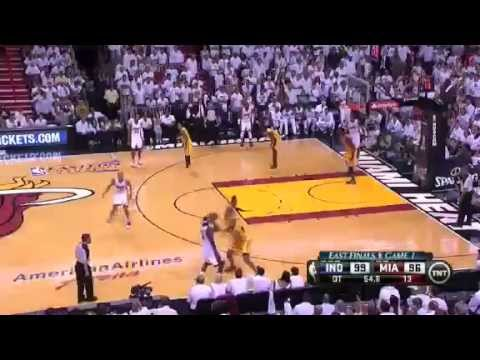 Indiana Pacers Vs Miami Heat - NBA Eastern Conference Finals 2013 Game 1 - Full Highlights 5/22/13
