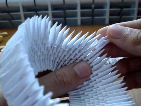 Модульное оригами схема пингвина фото 6