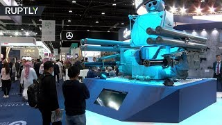 Russian Pantsir-ME air-defence system presented at IDEX in Abu Dhabi - RUSSIATODAY