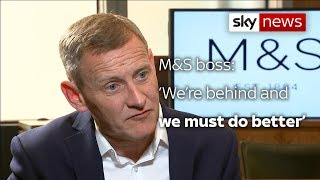 M&S boss: 'We must do better' - SKYNEWS