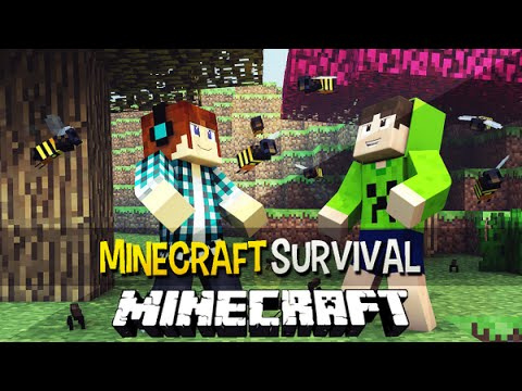 Minecraft Survival Ep.124 - A Prova de Tudo no Mundo dos Insetos !!