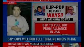 BJP resignation tussle: J&K BJP ministers to quit Mufti cabinet, sources - NEWSXLIVE