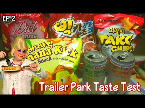 Trailer Park Taste Test : International Snacks