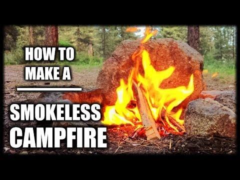 How To Make A Smokeless Campfire -