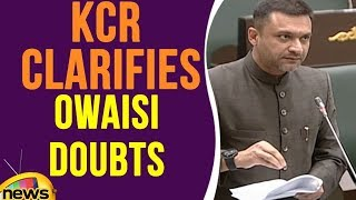 Akbaruddin Owaisi Raised Doubts & KCR Clarifies | Telangana Assembly | Mango News - MANGONEWS