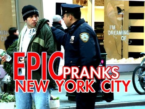 Epic Pranks - New York City