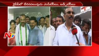 Shilpa Mohan Reddy Face to Face Over His Joining in YSRCP    NTV - NTVTELUGUHD