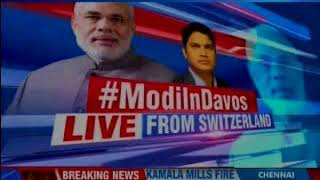 PM Modi in Switzerland's Davos ahead of World Economic Forums Annual Meeting of 2018 - NEWSXLIVE