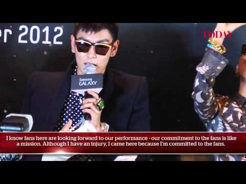 BIGBANG 'Alive GALAXY Tour 2012' Press Conference, Sept 27, 2012
