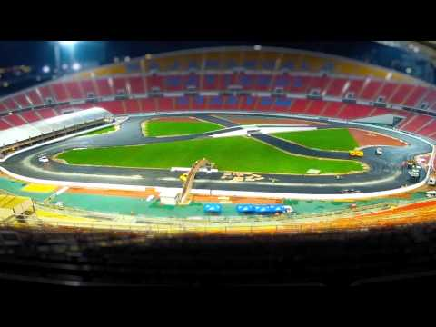 2012 ROC - Bangkok, Thailand - Track Build