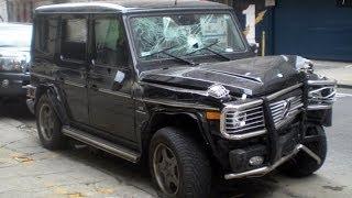 Mercedes Crash Compilation #1