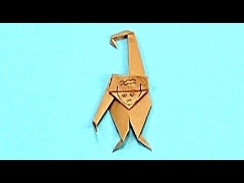 Çocuklar İçin Origami Chimpanzee (Öğretici) – Kağıttan Arkadaşlar 37