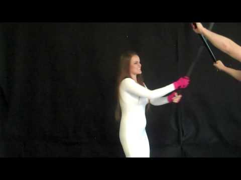 Beautiful Superheroine Defeated and Hypnotized