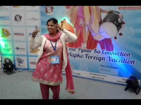 Full entertainment by Priyanka Sharma at Videocon Connect Super Jodi Audition, Amritsar,