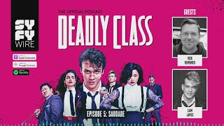 DEADLY CLASS | Official Podcast Episode 5 | SYFY - SYFY