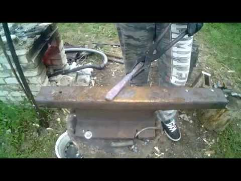 Jak zrobić nóż sax , seax / How to make a knife