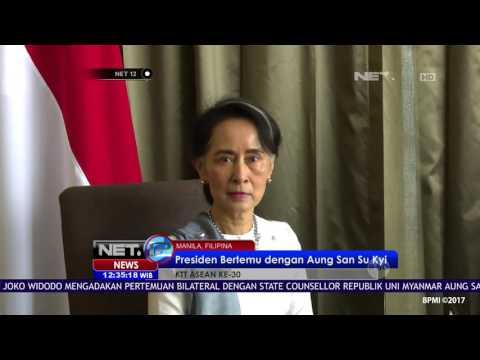 Presiden Jokowi adakan Pertemuan Bilateral dengan Myanmar di Filipina - NET12