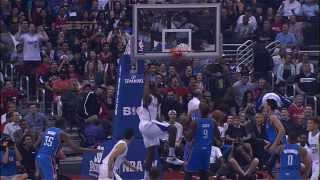 Blake Griffin's Sick Touch Pass Alley Oop To DeAndre Jordan