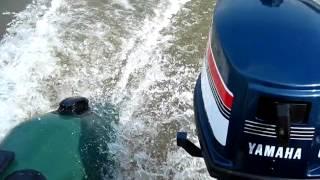 Лодочный мотор Ямаха 4 л.с. Лодка Гелиос 31 мк.