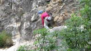 Klettersteig Chateau Queyras : 2012 07 05 klettersteig chateau queyras youtube
