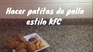 Alitas de pollo estilo Kentucky Fried Chicken (Certificada)