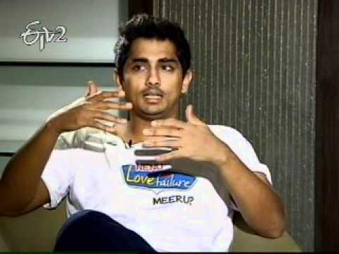A Chit Chat with Hero Siddharth on Love Failure movie Part 2