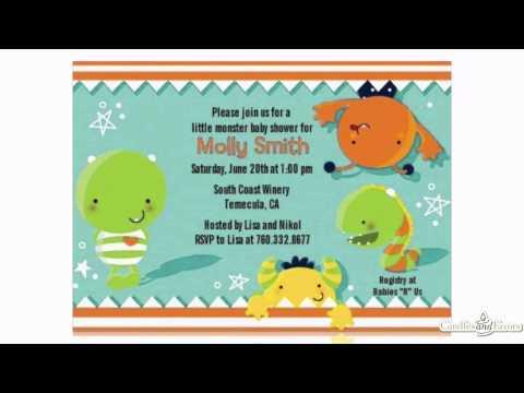 Little Monster Baby Shower Theme Showcase