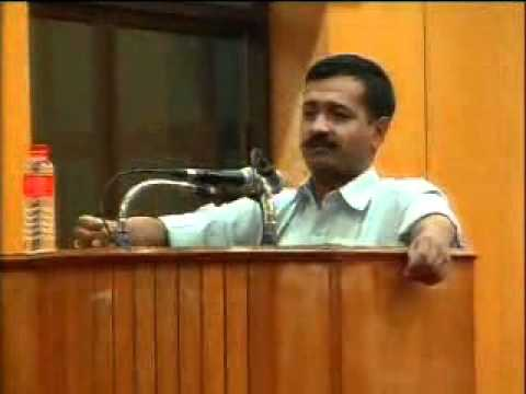 Part 2: Arvind Kejriwal @ IIT Chennai - 31st July 2011