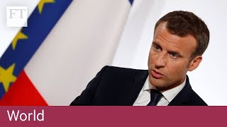 Macron suffers EU setback over tech tax plans - FINANCIALTIMESVIDEOS
