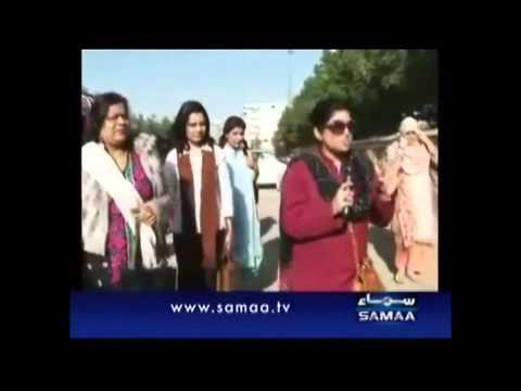 Maya Khan Raids on couples in Karachi Parks