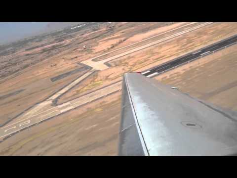 Allegiant Air MD80 takeoff IWA-LAS