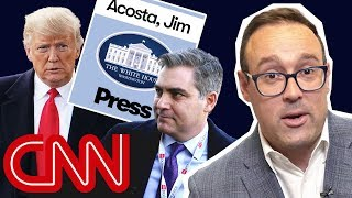 Why the battle for Jim Acosta's press badge was a big deal | With Chris Cillizza - CNN